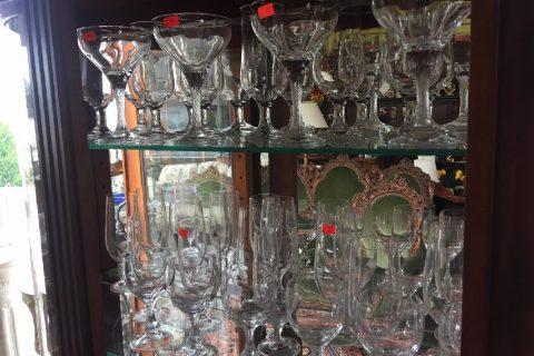 Skleničky – poháry – různé druhy