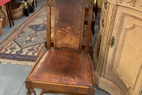Židle kůže 4ks č.9206