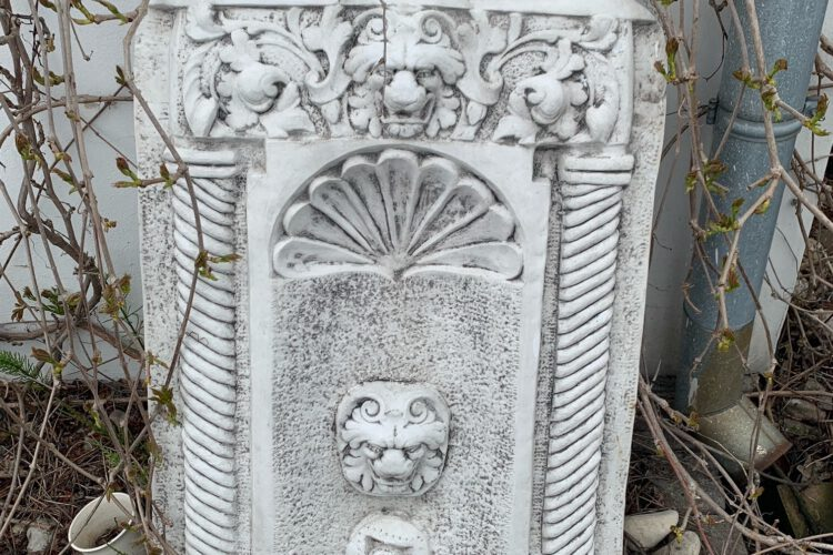 Zahradní betonová dekorace fontána