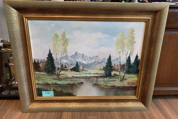 Obraz malba plátno