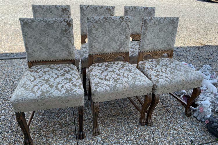 Židle 6ks č.9475